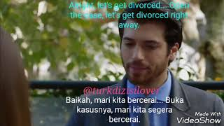 Dolunay 24: Alright, let's get divorced... (English & Indonesian Sub)