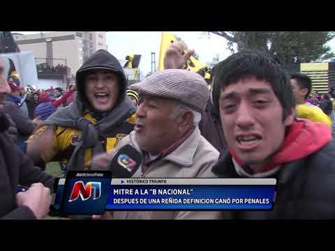 ¡Histórico! Mitre festejó en los penales y ascendió a la B Nacional