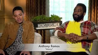 Anthony Ramos and John David Washington Interview | Monsters and Men