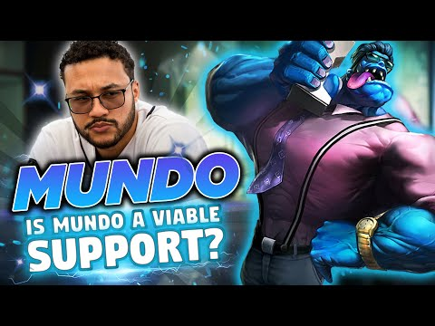 Is Mundo a viable Support? | Aphromoo