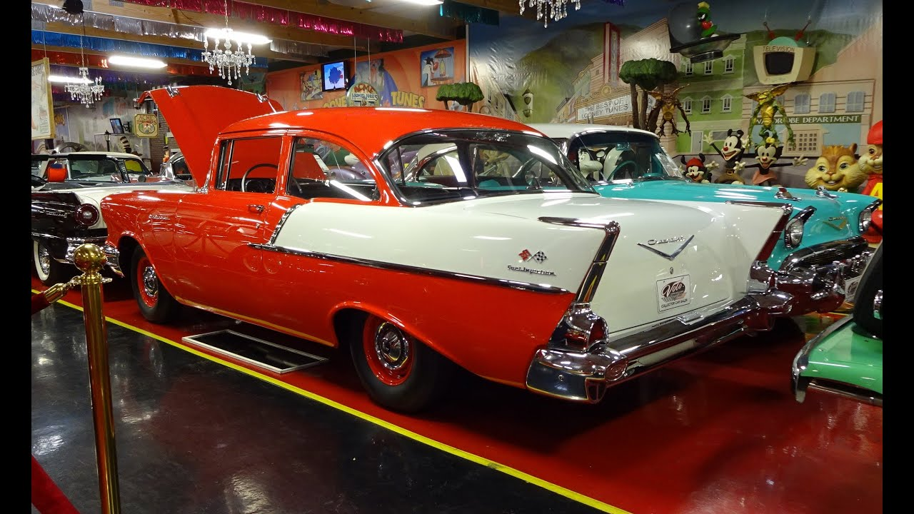 1957 Chevrolet Chevy 150 Fuel Injected Volo Auto Museum