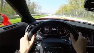 2019 Dodge Challenger Hellcat Redeye - Tedward  POV Track Drive