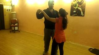 Ravi and Sonia Practice - Couple choreo on Kehne Ko Jashn e Bahara Hai
