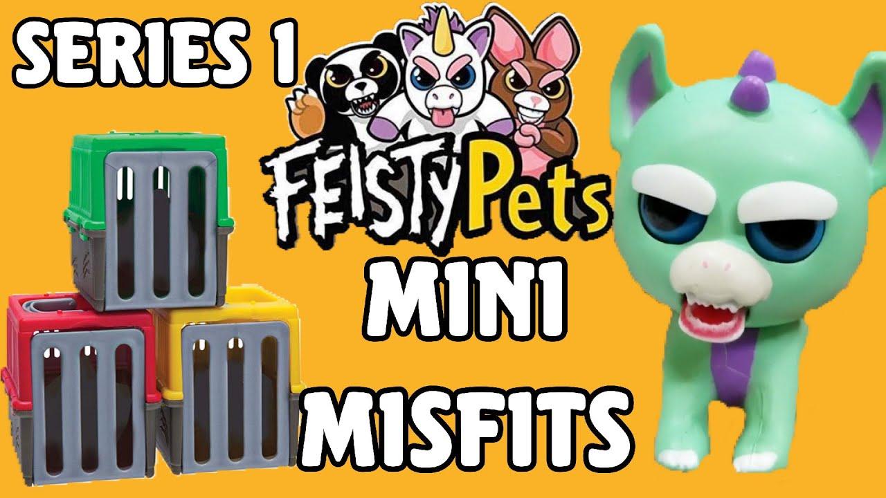 Feisty Pets Mini Misfits   Surprise Pets Blind Boxes