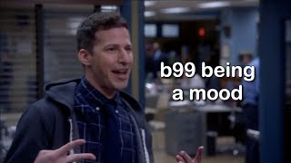 brooklyn nine nine being a mood for 4 minutes straight