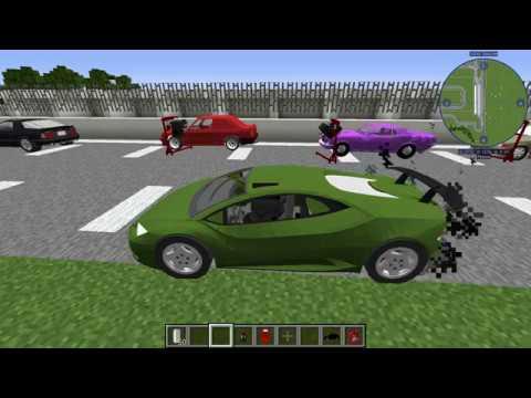 Обзор модов № 19 Xujmod Cars Mod - настоящие машины [1.12.2]
