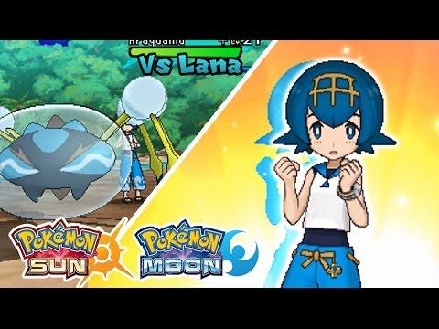 Pokemon Sun & Moon: Battle! Captain Lana (HQ) |
