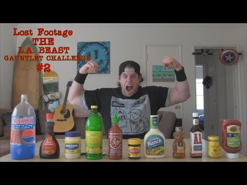 Lost Footage | The L.A. BEAST Gauntlet Challenge #2 | Vomit Alert (April 10, 2014)