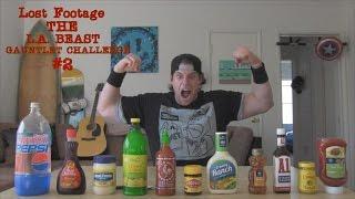 Lost Footage | The L.A. BEAST Gauntlet Challenge #2 | Vomit Alert (April 10, 2014)