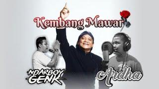 Download lagu ARDHA X NDARBOY GENK - KEMBANG MAWAR (Kagem Alm. Didi Kempot)