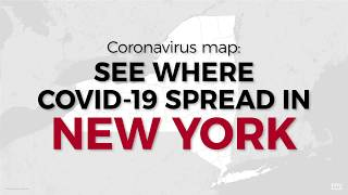 Coronavirus map: See where COVID-19 spread in New York