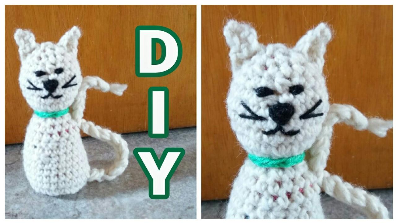 Kleine Amigurumi Katze Häkeln Diy Julebuergerfee Youtube