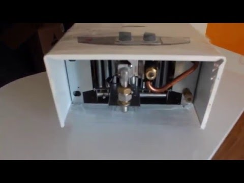Газовая колонка Termet TermaQ G 19 01 - YouTube
