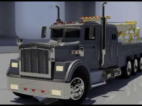 Black Thunder - 3D Truck Model