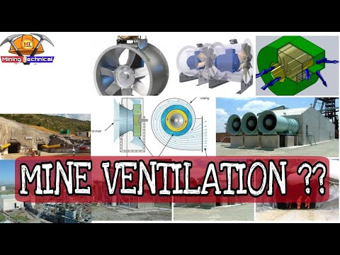 Mine Ventilation    Types    Fan Used In Mines    Mining Videos
