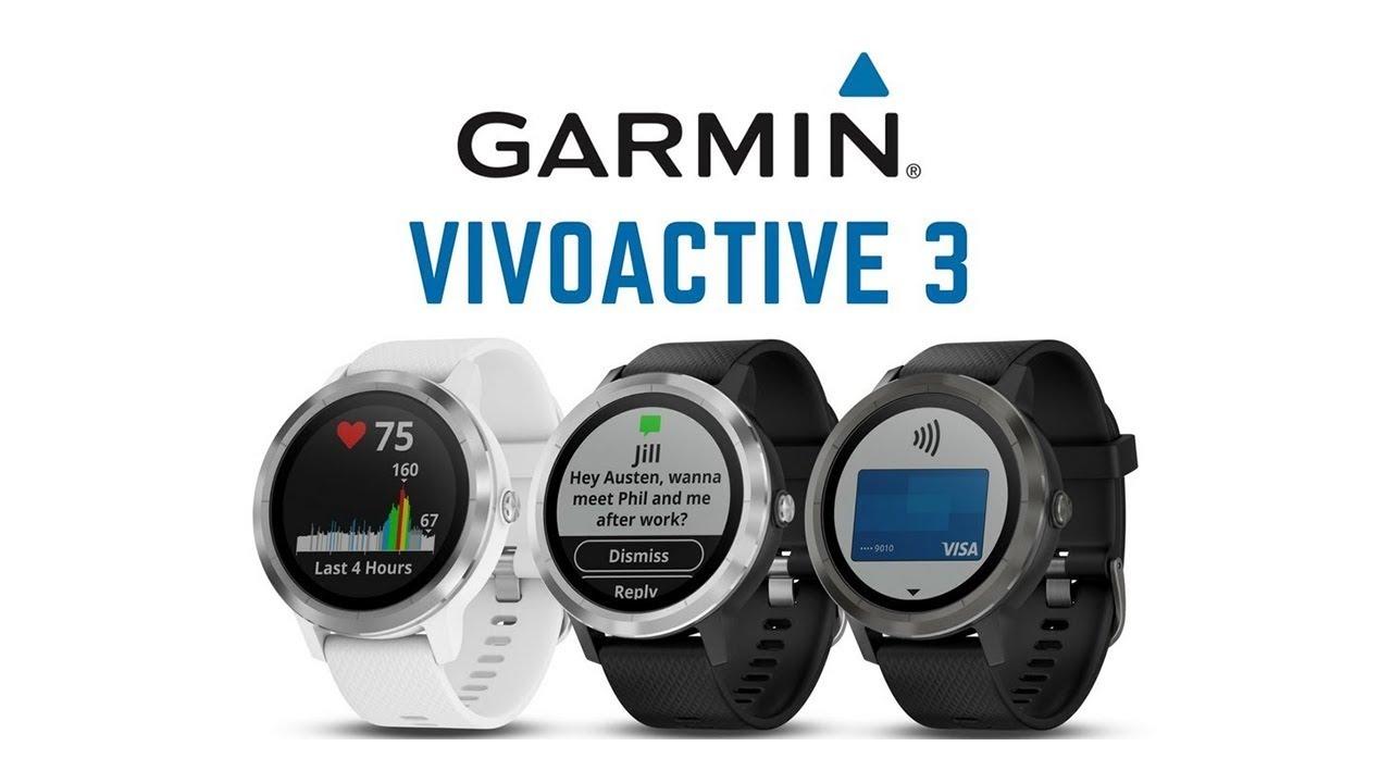 garmin vivoactive 3 india - gps smartwatch, battery life
