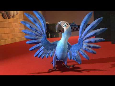 Rio - Jewel dance #1 (animation test video)