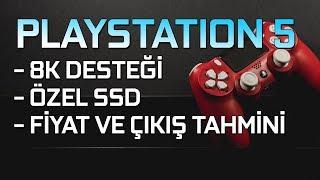 PLAYSTATION 5'TEN İLK DETAYLAR: 8K DESTEĞİ, ÖZEL BİR SSD, AMD İŞLEMCİ