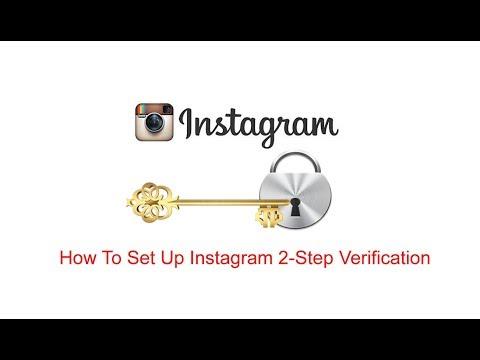 How To Set Up Instagram 2 Step Verification