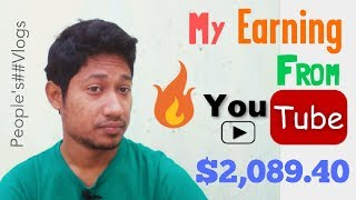 My youtube second payment