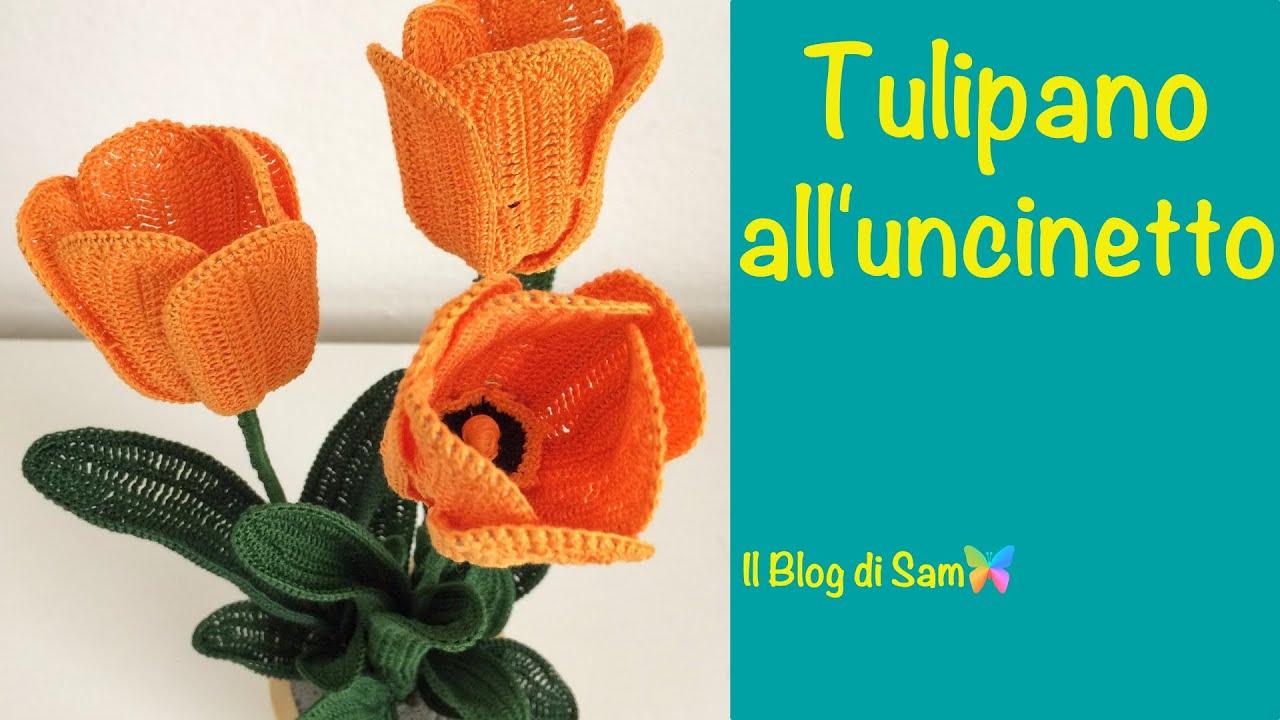 Spiegazione Del Tulipano Alluncinetto Youtube