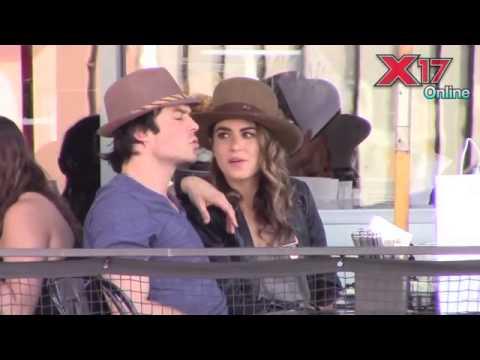 Ian Somerhalder and Nikki Reed in LA (07/09/2014)