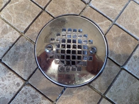 part(1)-how-to-measure,-cut-&-install-tile-in-circular-shape-around-shower-floor-drain-flange