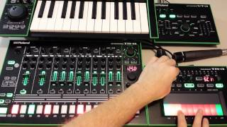AIRA TB-3 / TR-8 -Scatter, Side Chain and Pattern