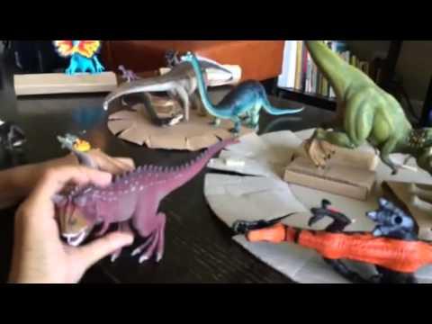 Triassic, Jurassic and Cretaceous Dinosaur Toys