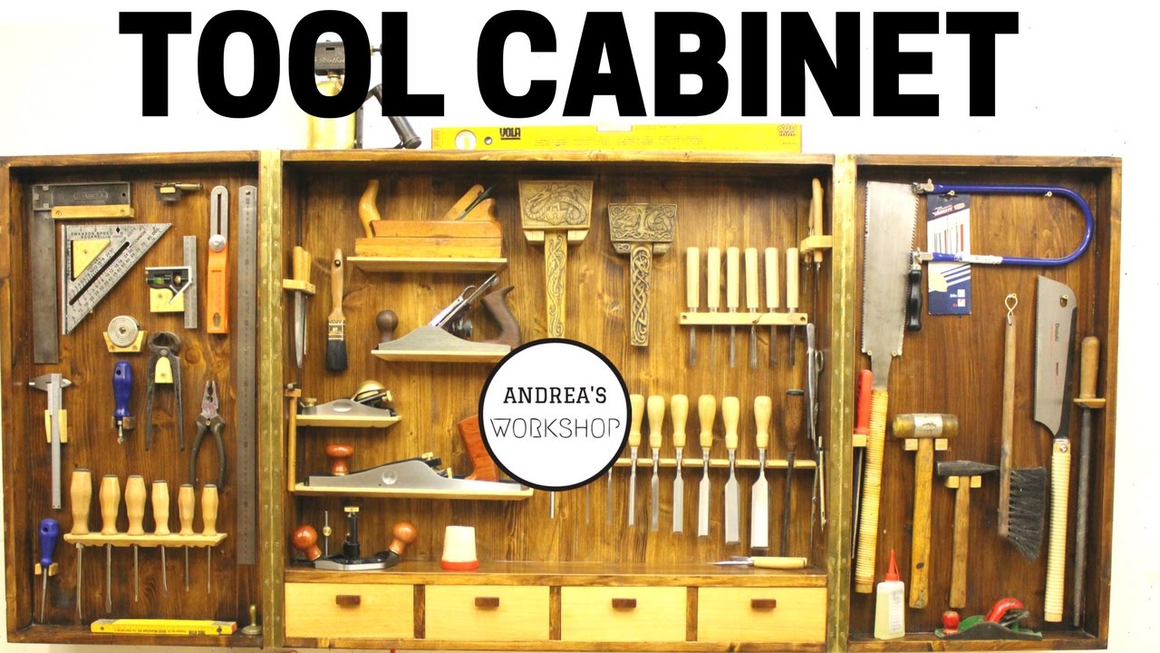 Making A Hand Tool Cabinet Organizer Youtube