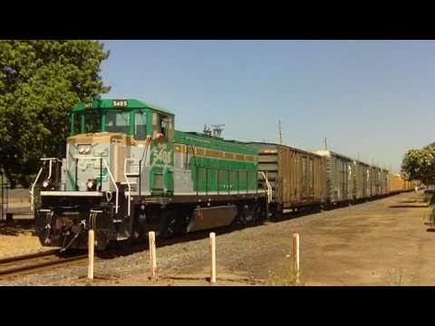 Freight train thru Modesto, Ca.- RPRX 5405