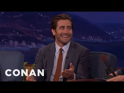 Jake Gyllenhaal Is Very Into HighEnd Toilets  CONAN on TBS