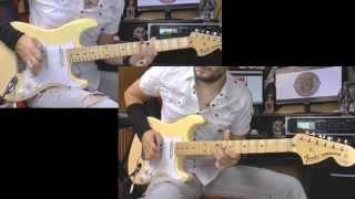 Yngwie Malmsteen - Rising Force guitar cover WITH BACKING TRACK !