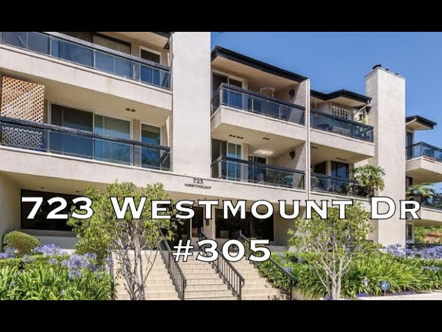 723 Westmount Dr #305, West Hollywood CA 90069