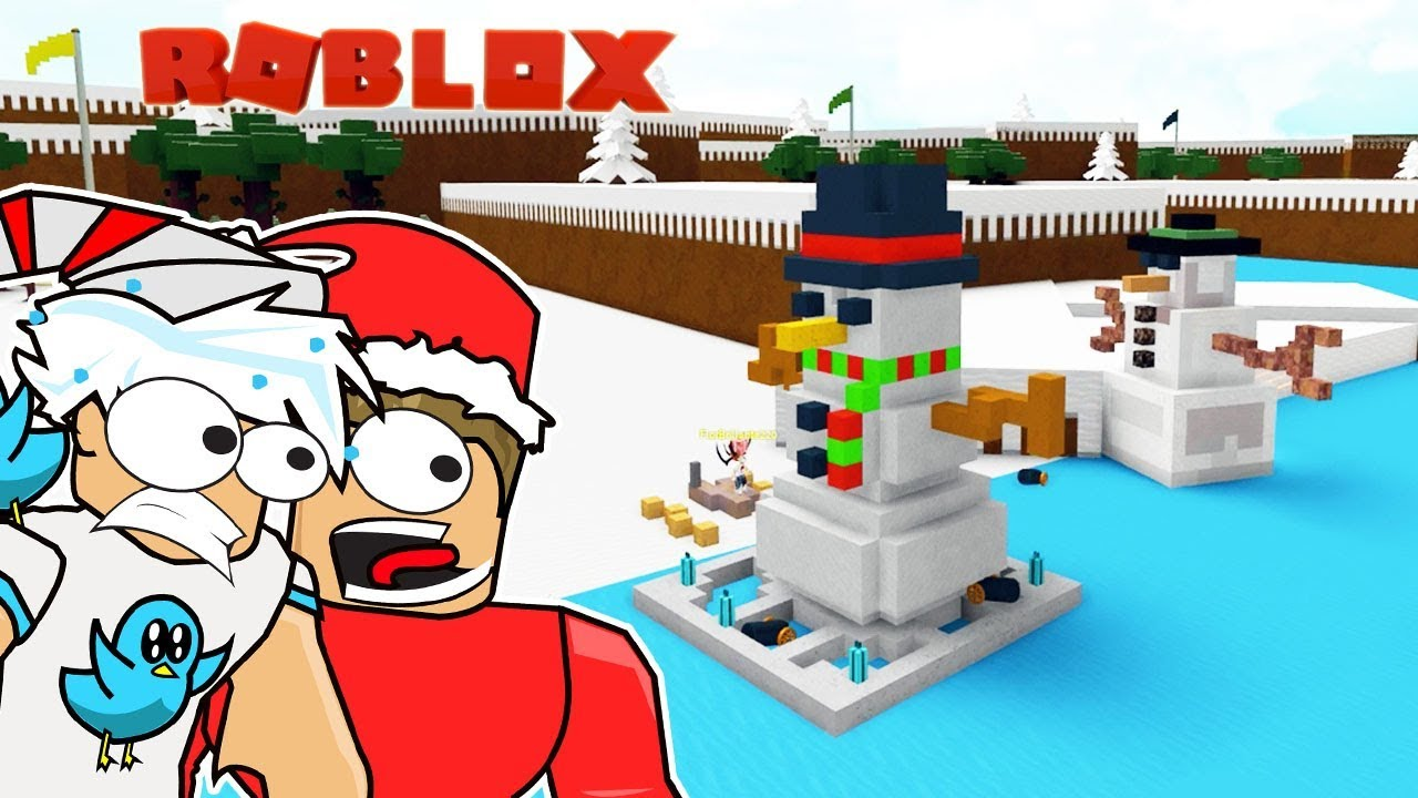 FROSTY THE SNOWMAN BOAT / BUILD A BOAT TO TREASURE IN ROBLOX