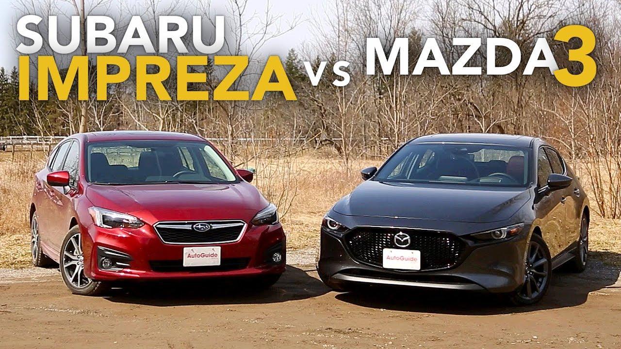2019 Subaru Impreza Vs Mazda3 Which Awd Hatchback Is Better