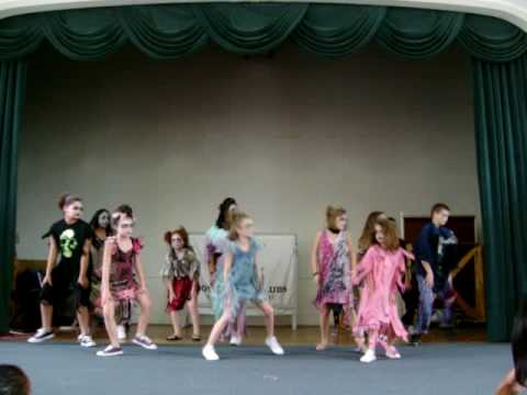 Learn the thriller dance for kids