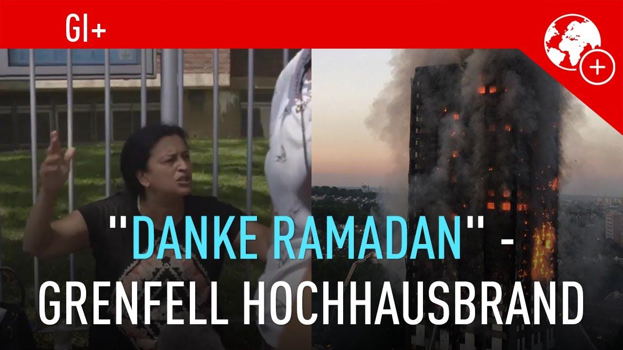 "danke ramadan"" - grenfell hochhausbrand - youtube, Einladung"