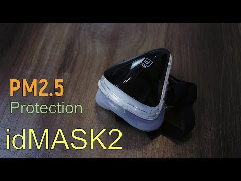 idMask2 and idMask2 Shield use it to Protect Yourself from Air Pollution