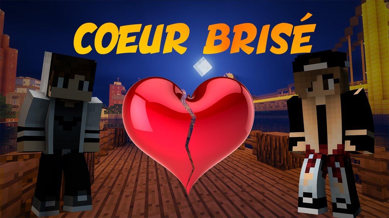 Coeur Brisé Minecraft Court Métrage YouTube