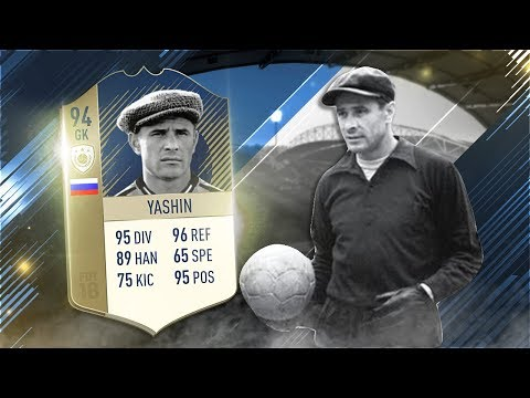 FIFA 18 Prime Icon Yashin Review - 94 Icon Lev Yashin Player Review - Fifa 18 Gameplay