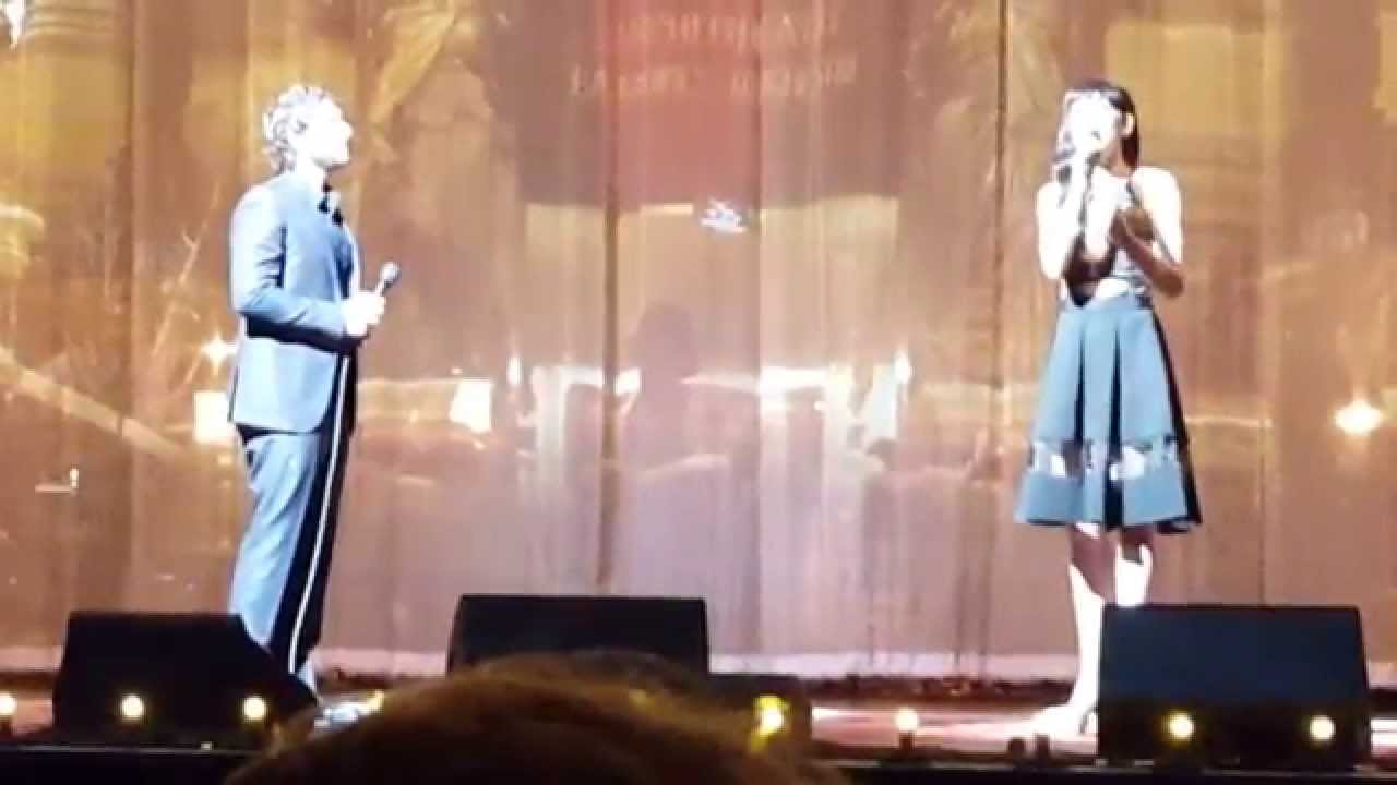 Quot All I Ask Of You Quot Josh Groban Amp Lena Hall Youtube
