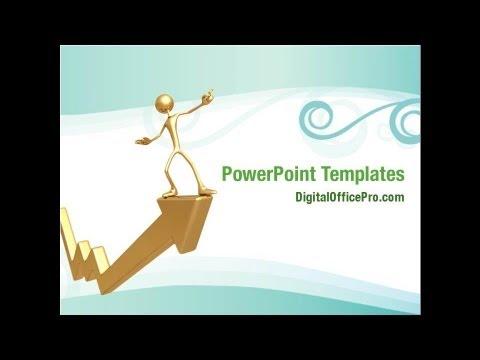 Economic Improvement Powerpoint Template Backgrounds