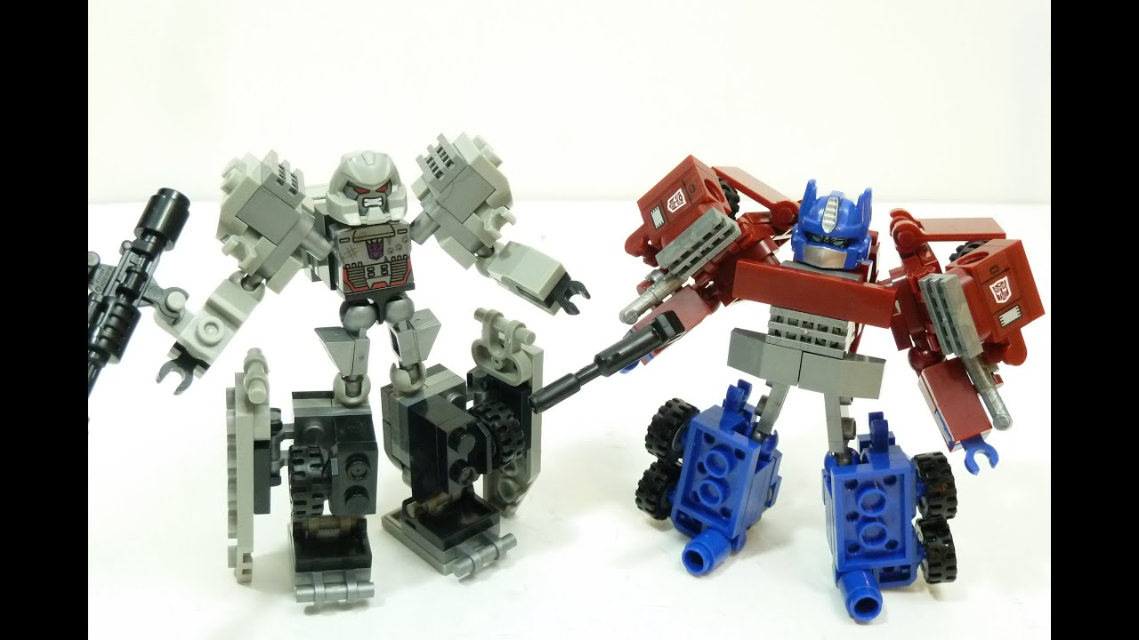 Kre-o Transformers Optimus Prime - Kreon Battle Changer Building .