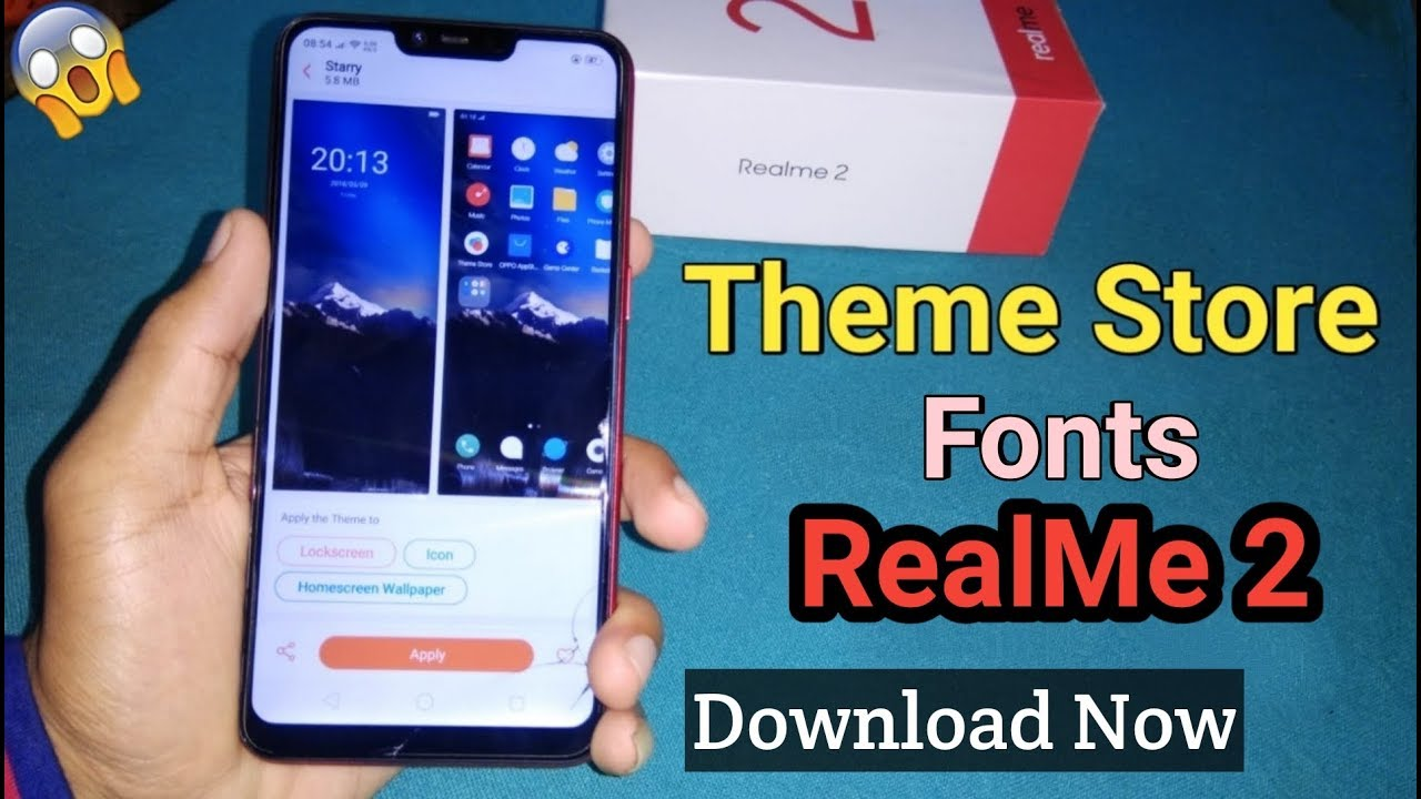 How to Download Theme Store in Realme 2 & Pro (Free) Unlimited Themes &  Wallpapers