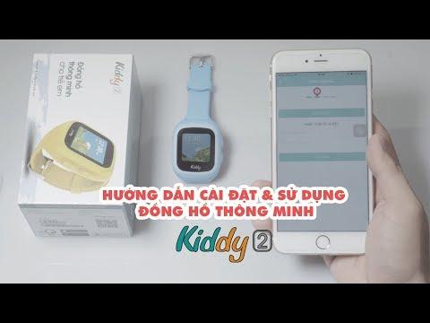 Hướng dẫn cài đặt & sử dụng đồng hồ Kiddy 2