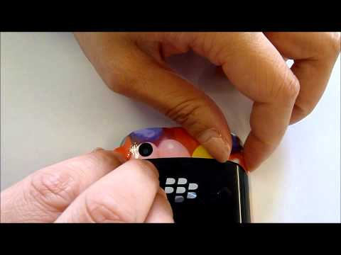 Blackberry Curve 9380 skin installation tutorial.