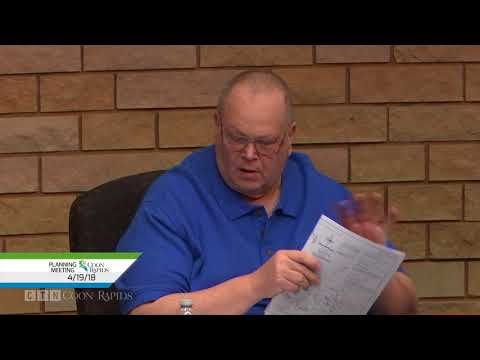 Planning Commission Meeting 4/19/18