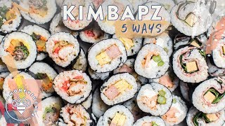5 Lunchable Fusion KIMBAP for hungry #BuzyBeez
