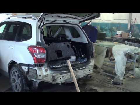Subaru Forester часть 1. Жестянка пятой двери.